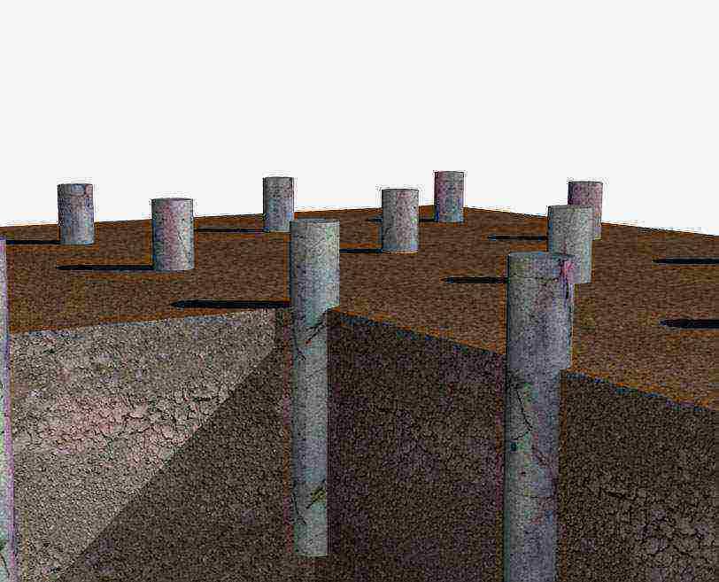 Сваи из канализационных пластиковых труб: плюсы и минусы использования для возведения свайного фундамента своими руками