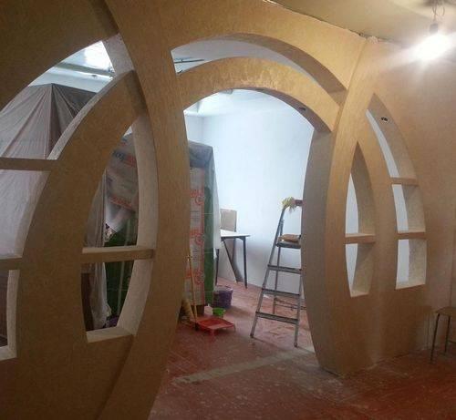 Делаем оригинальную арку из гипсокартона своими руками: что полезно знать?
