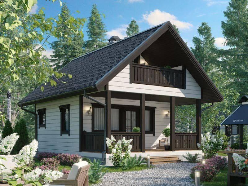 Необычные проекты домов, оригинальная планировка коттеджей и загородных одноэтажных домов