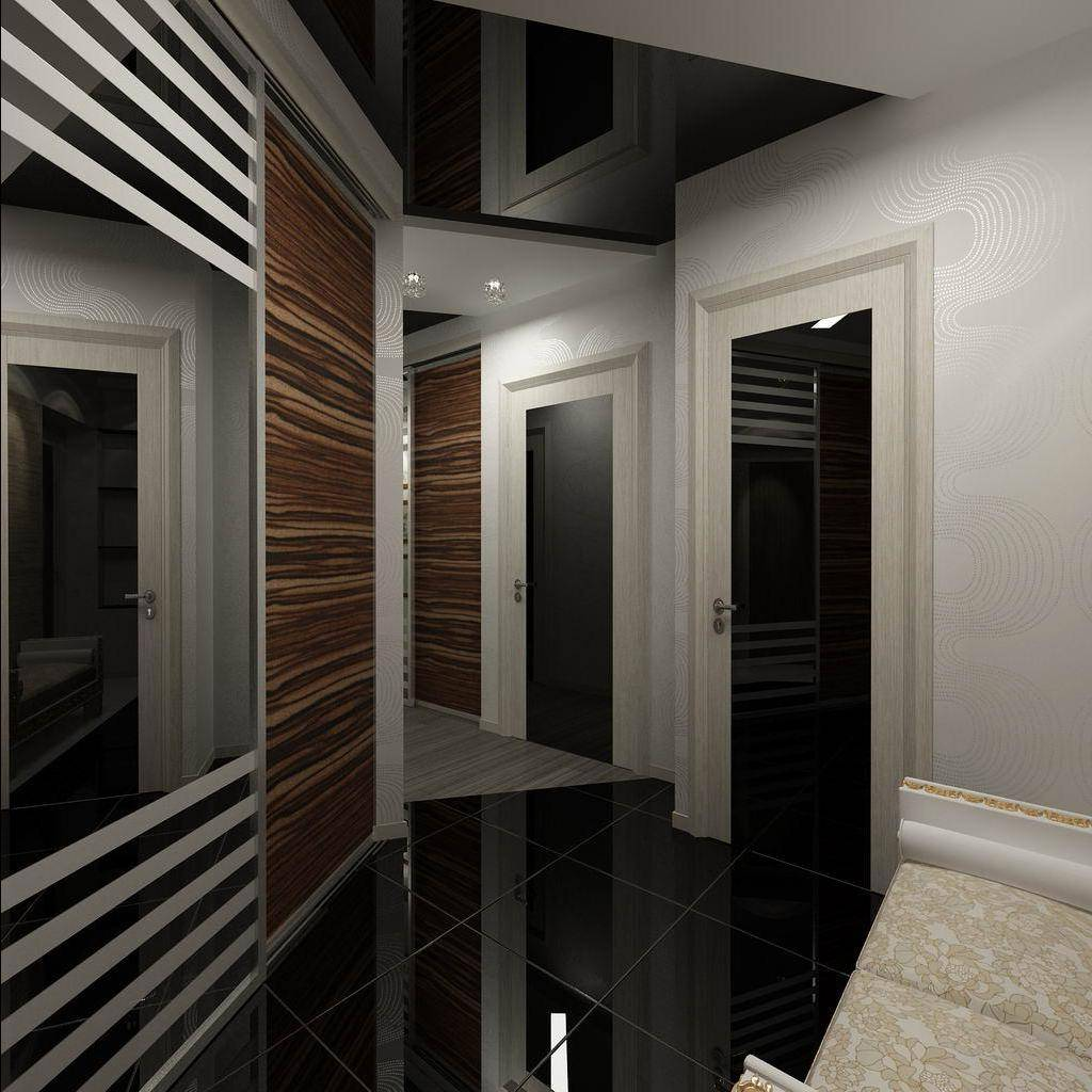 Зеркальные потолки: фото, виды и особенности монтажа :: syl.ru