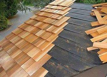 Крыша из дерева: виды кровельных элементов. возведение каркаса и монтаж кровельного материала