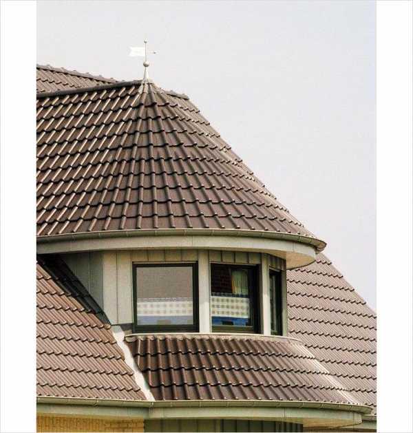 Круглая крыша: разновидности и технологии сооружения