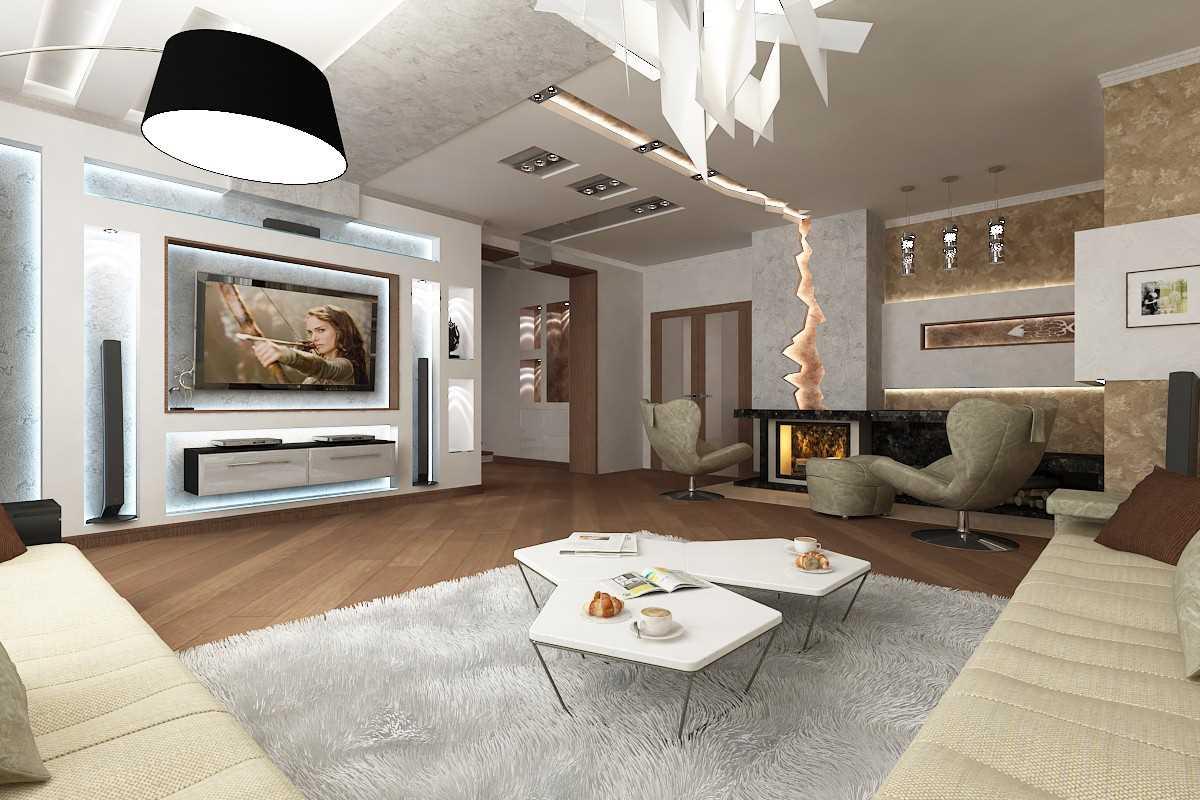 Какой должна быть гостиная в современном доме?