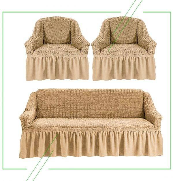 Выбираем чехлы на мягкую мебель: советы дизайнеров