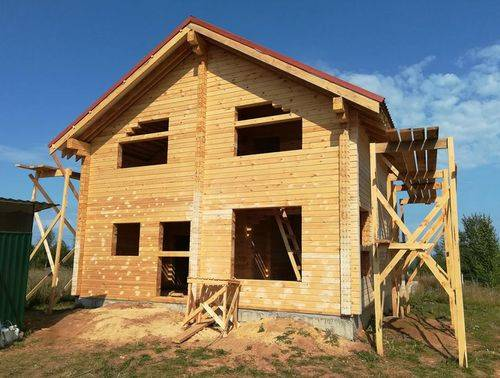 Дачный домик своими руками, инструкция - фото примеров