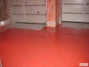 Чем покрыть бетонный пол чтобы не пылил в гараже, на складе, дома, в квартире