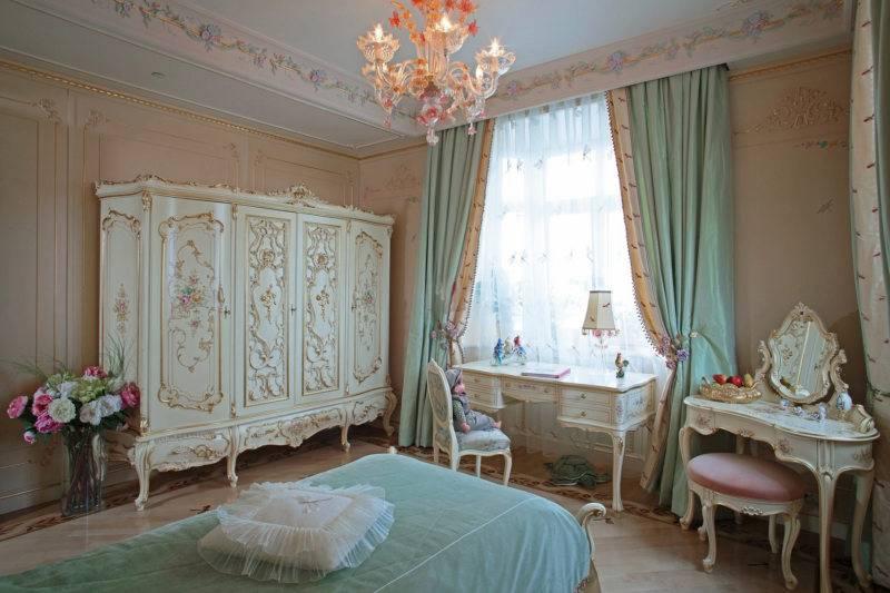 Стиль барокко в интерьере (90+ фото)   особенности дизайна   оформление отделки, декора, мебели в стиле барокко