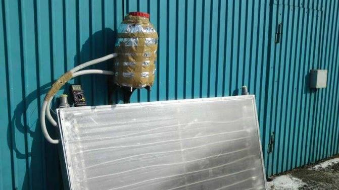 Солнечный коллектор для отопления дома: расчет воздушной конструкции, вакуумный вариант для использования зимой своими руками, отзывы