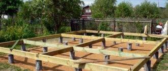 Пошаговая инструкция по строительству столбчатого фундамента своими руками