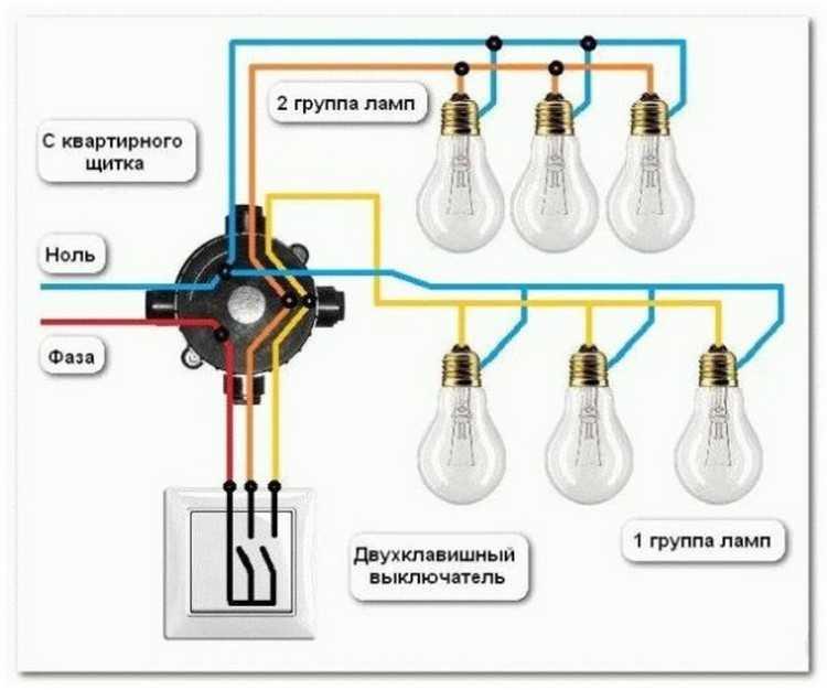 Схемы подключения проходных выключателей одноклавишных - tokzamer.ru
