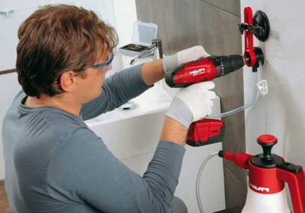 Как правильно сверлить кафельную плитку на стене и полу: видео с пояснениями и рекомендациями