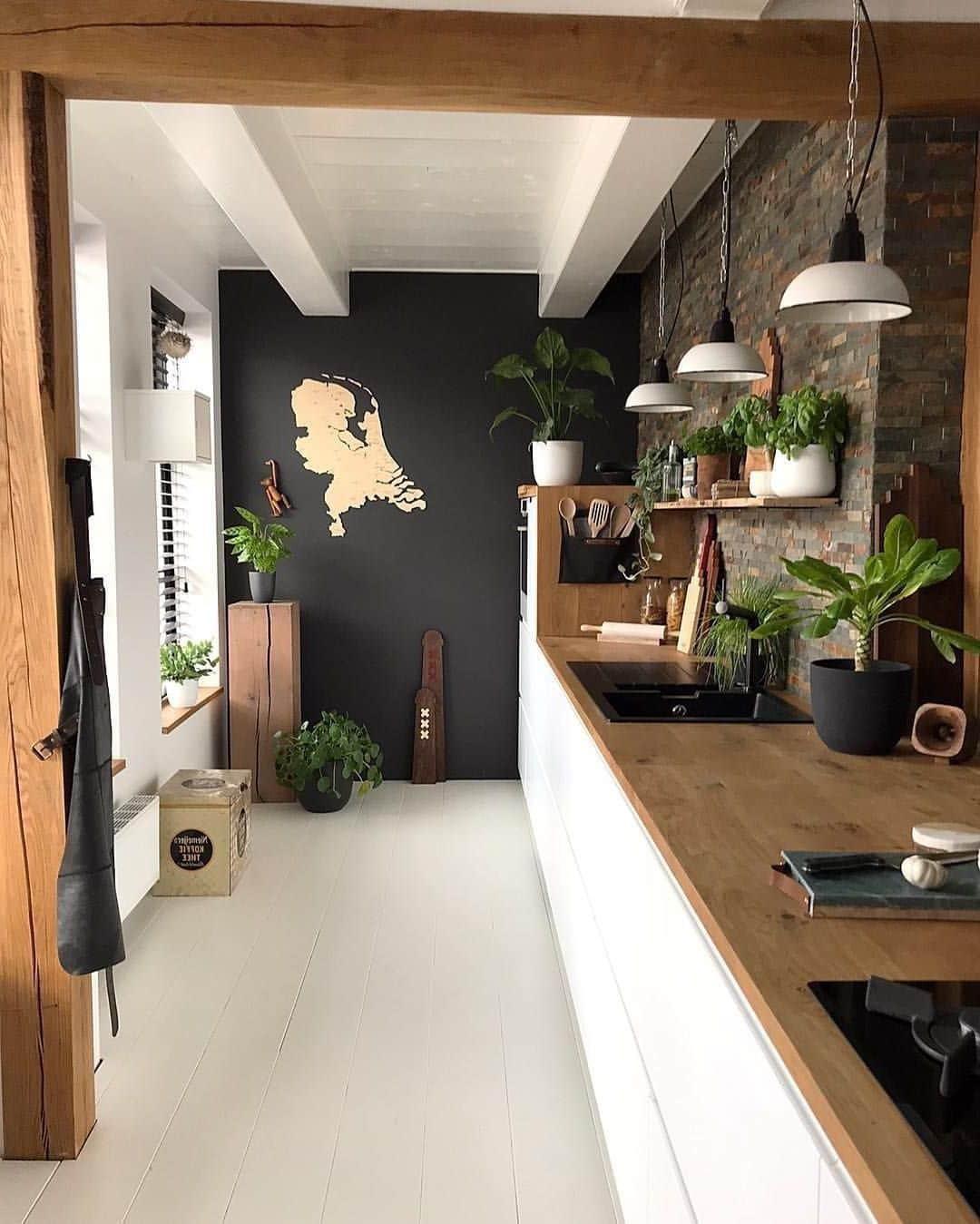 Дизайн черной кухни: 220+ (фото) сочетаний в интерьере