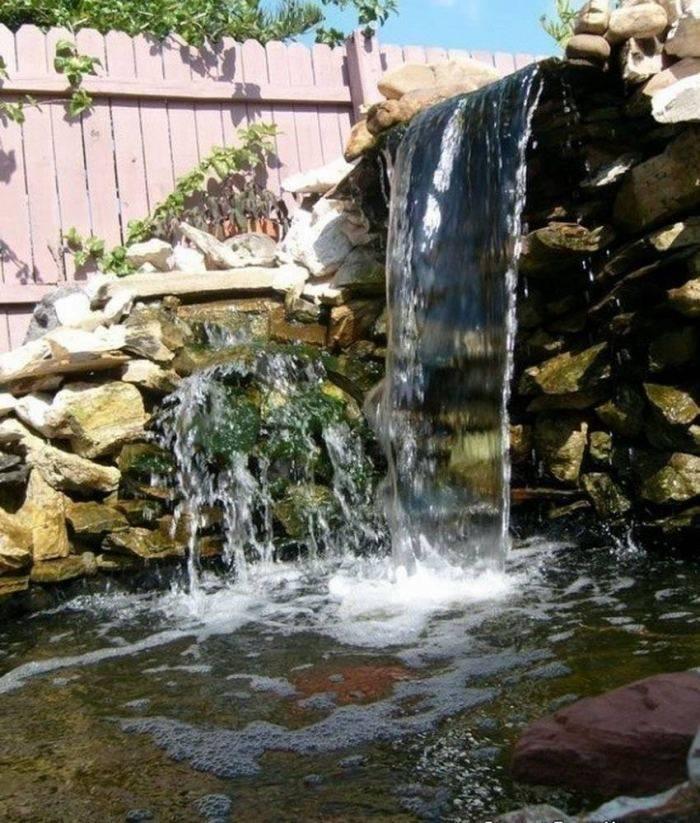 Как сделать водопад на даче своими руками: мастер-класс с пошаговым фото и видео инструкция