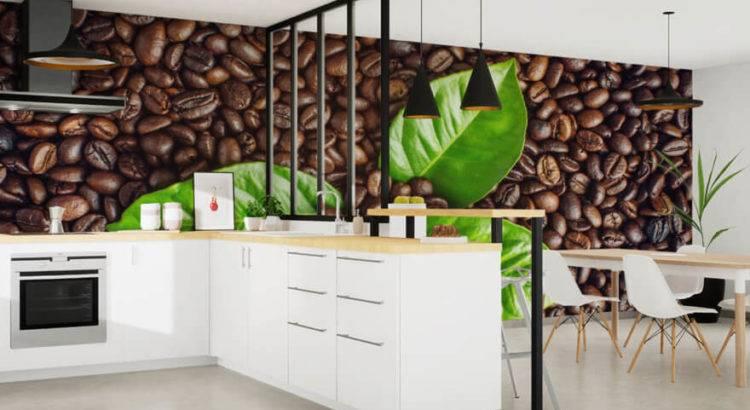 Фотообои в интерьере кухни – выбор дизайна и идеи оформления (55 фото)