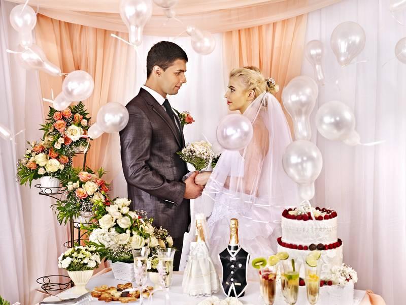 Свадебный декор своими руками: мастер-класс изготовления аксессуаров из различных материалов