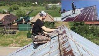 Краска для оцинкованной крыши по ржавчине: какая лучше (резиновая в леруа мерлен)