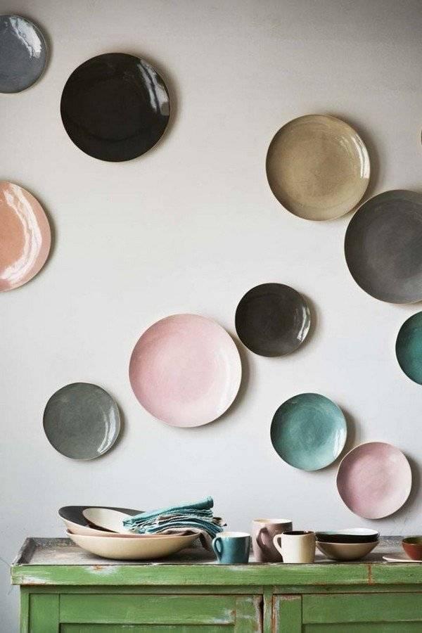 Декоративные тарелки на стену своими руками