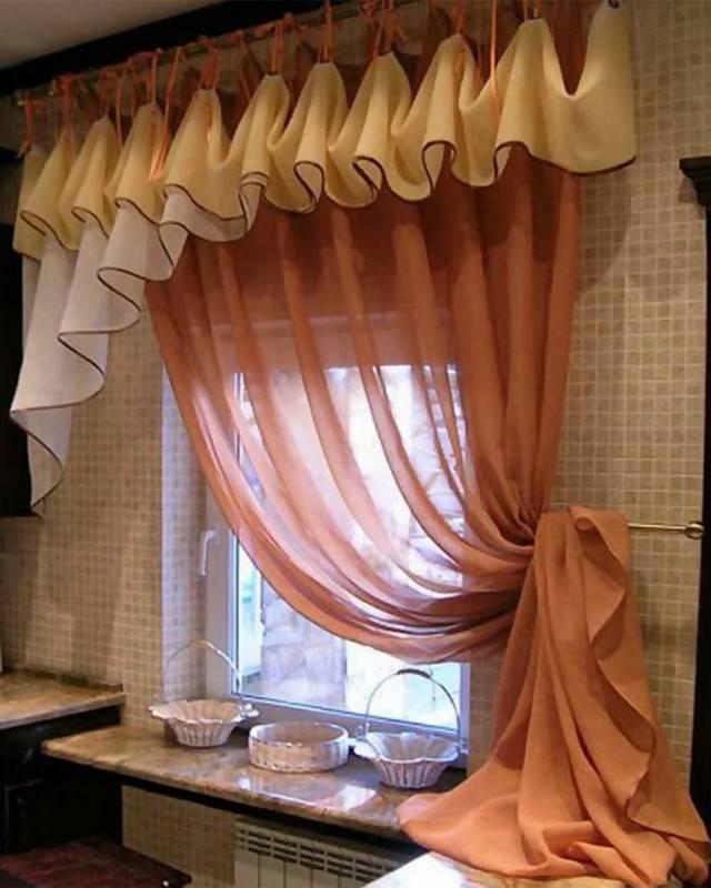 Тюль своими руками: 107 фото занавесок для кухни и разных комнат