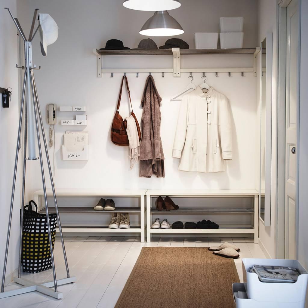 Дизайн узкой прихожей: 45 фото в интерьере квартиры