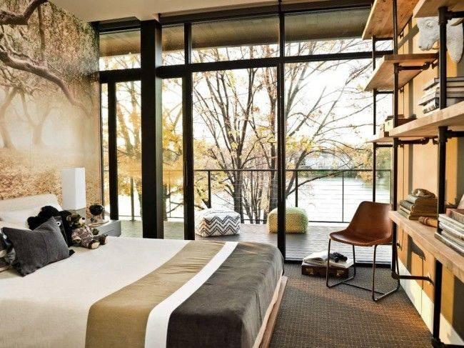 Французские окна: в квартире, в частном доме   фото
