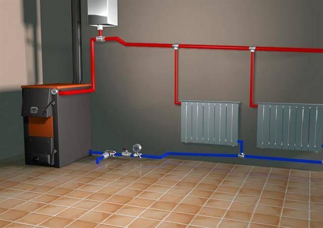 Теплоснабжение частного дома - реконструкция и проектирование систем отопления разных видов и типов, детальное фото и видео