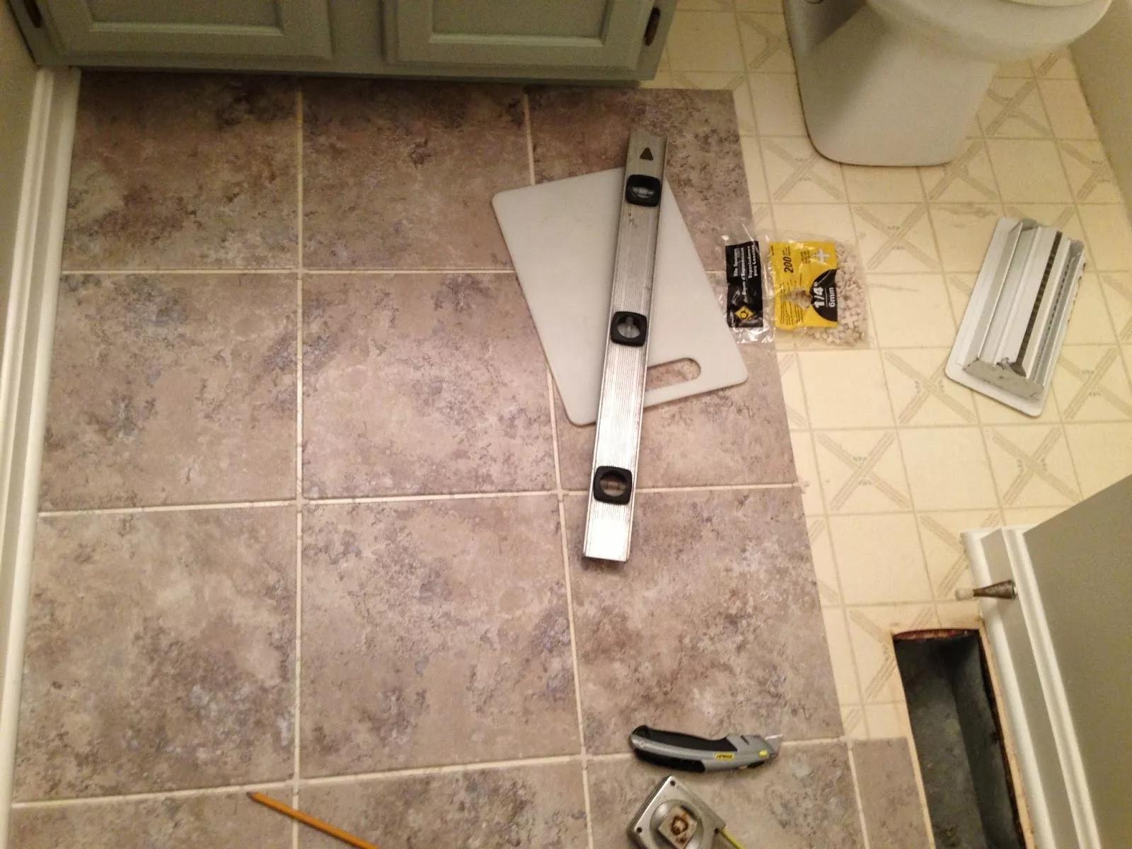 Укладка плитки – правила, советы, технологии
