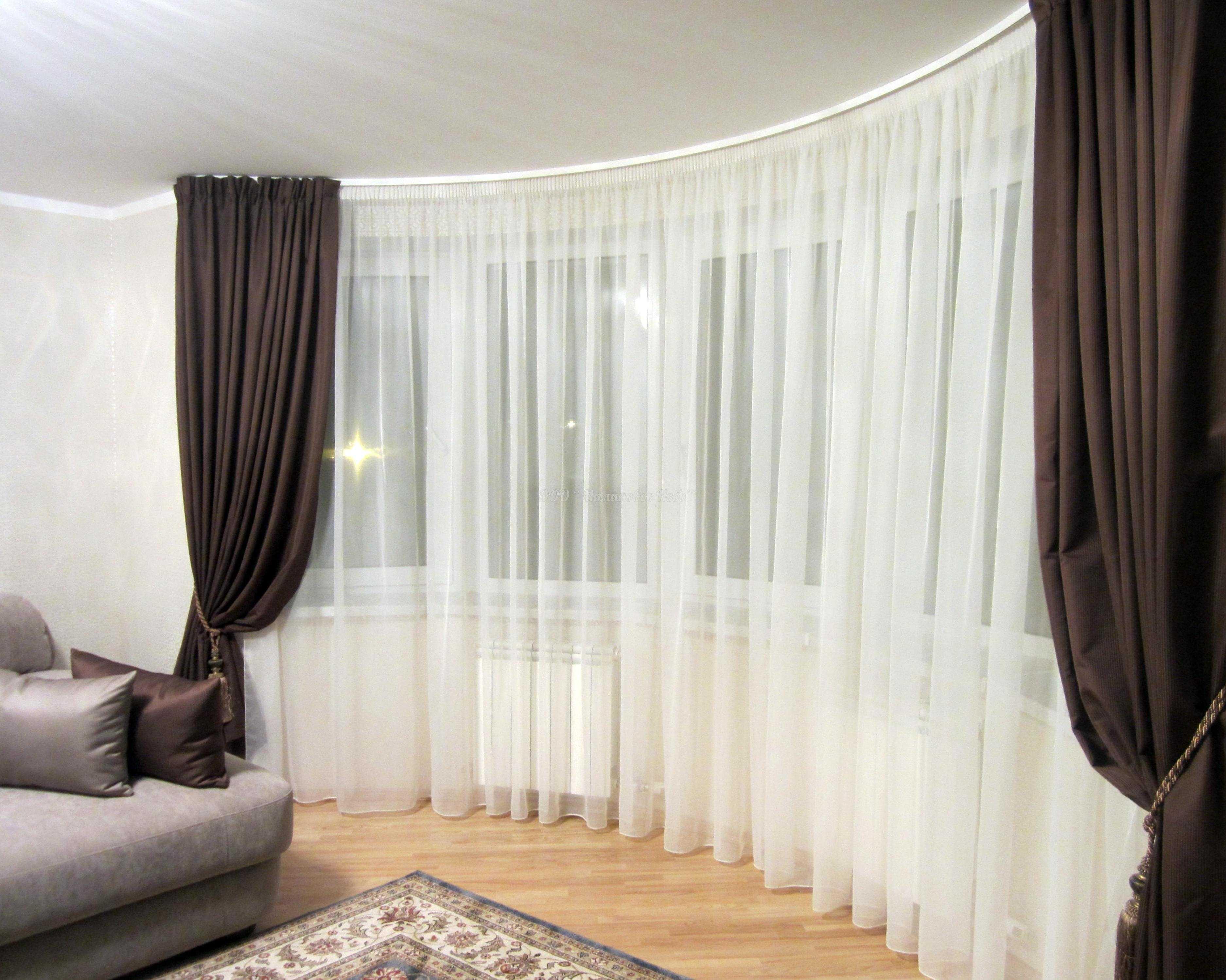 Декор штор - инструкция, как сделать оригинальный декор своими руками. 150 фото новинок дизайна