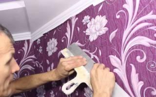 Куда наносить обойный клей: на стену или на полотно обоев - строительство и отделка - полезные советы от специалистов