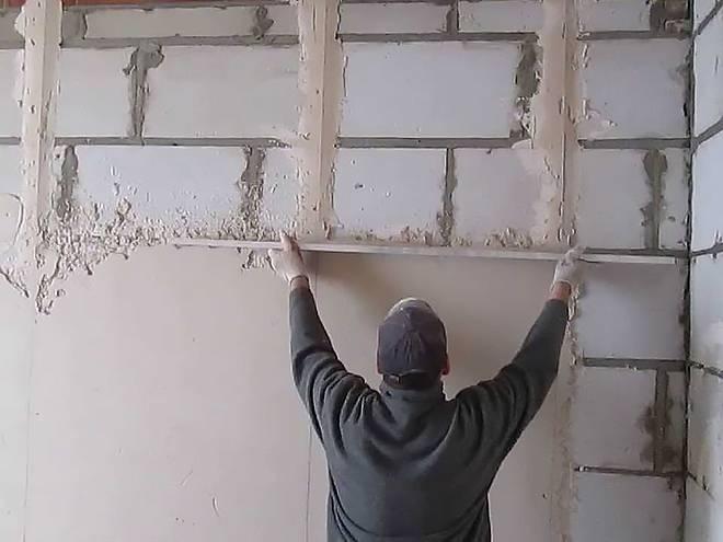 Отделка пеноблока изнутри: видео-инструкция по монтажу своими руками, особенности внешней облицовки домов, стен, фасадов, фото