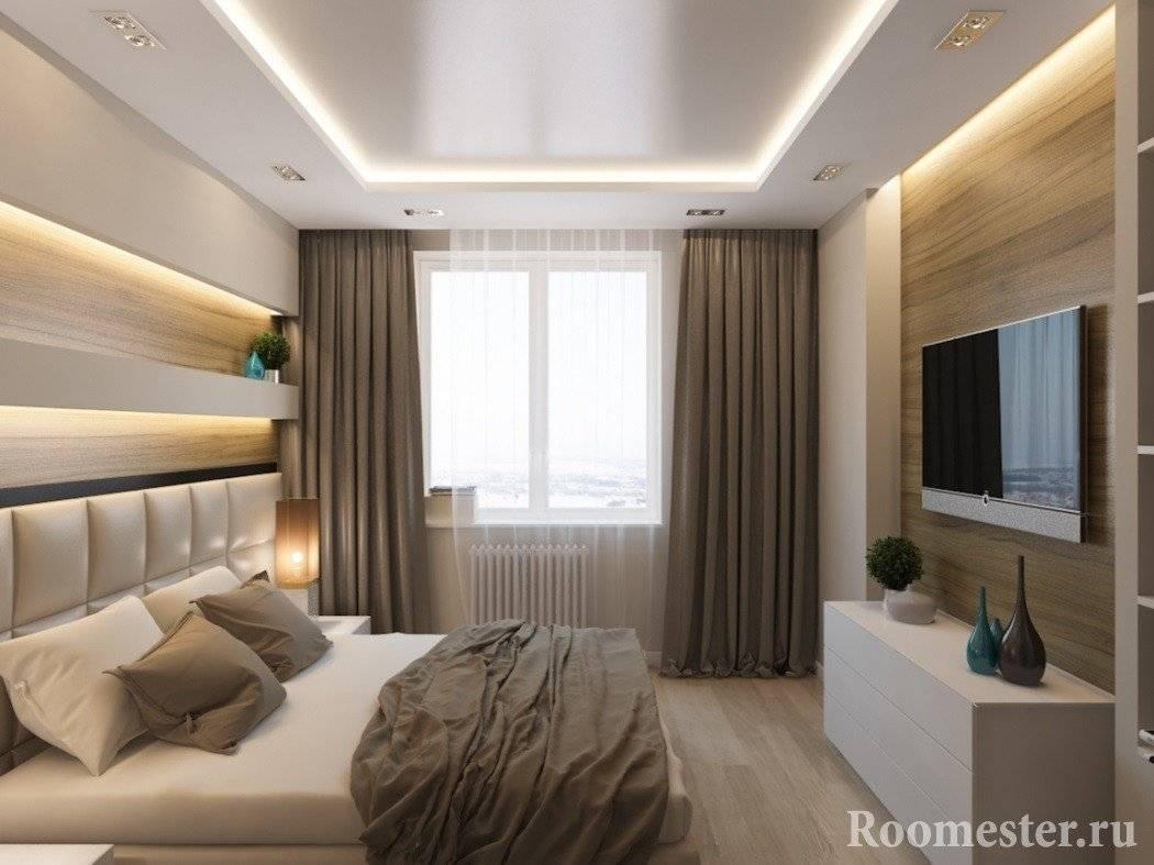 Дизайн спальни 10 кв. м (83 фото): интерьер и планировка в «хрущевке», варианты ремонта в комнате, проекты квадратной спальни без окна в современном стиле. как обставить прямоугольную комнату?