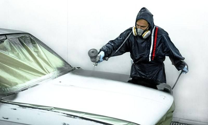 Как нанести эпоксидный грунт на кузов автомобиля?