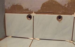 Как правильно просверлить кафельную плитку, чтобы она не треснула