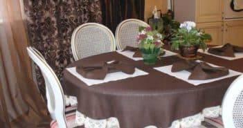 Скатерть на стол для кухни: круглые модели, на овальный стол своими руками, как сшить, схемы скатерть для стола своими руками – неповторимый декор любой кухни – дизайн интерьера и ремонт квартиры своими руками