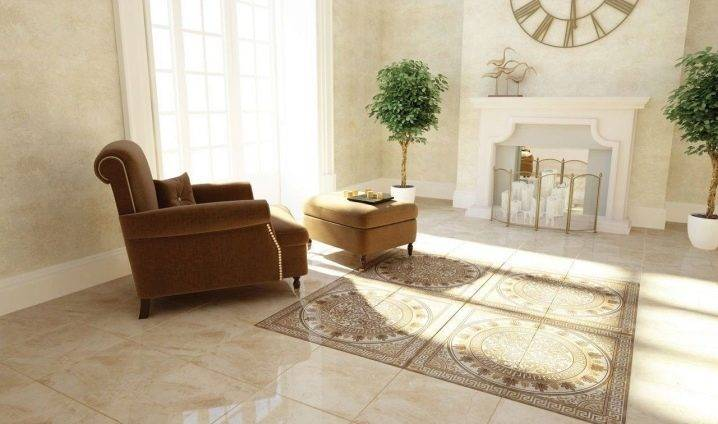 Напольная плитка: 70+ фото, идеи для кухни, прихожей, ванной, гостиной, спальни, балкона