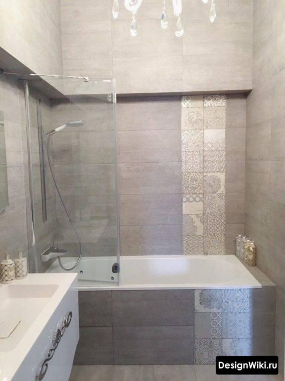Плитка для ванной комнаты виды, как выбрать 75 фото
