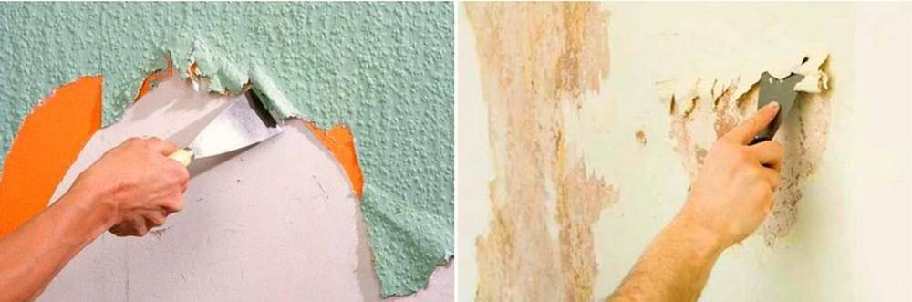 Поклейка обоев на водоэмульсионную краску: поэтапные работы