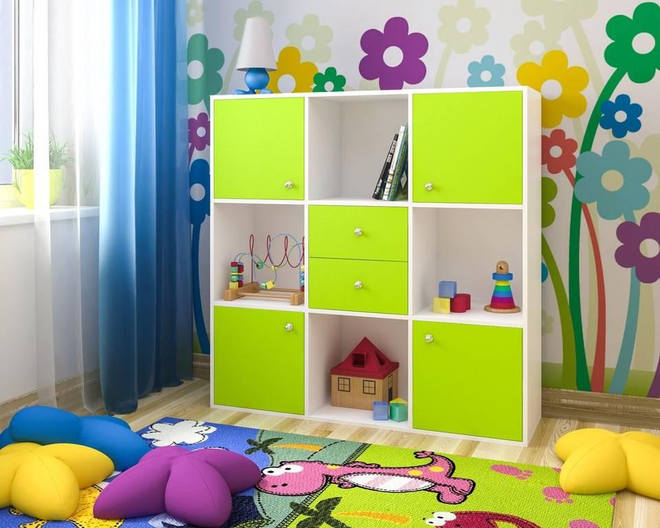Шкаф для игрушек в детскую - какие бывают | как выбрать?