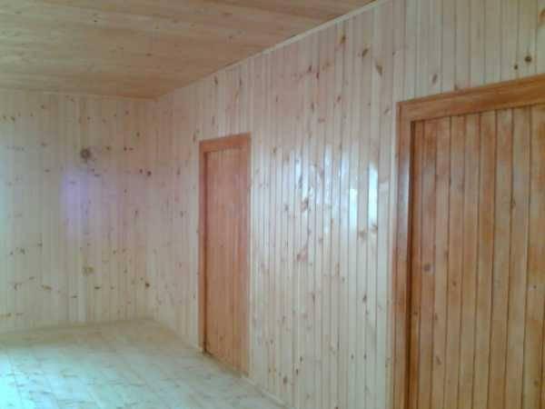 Отделка/обшивка стен вагонкой изнутри, как крепить, выбор дерева