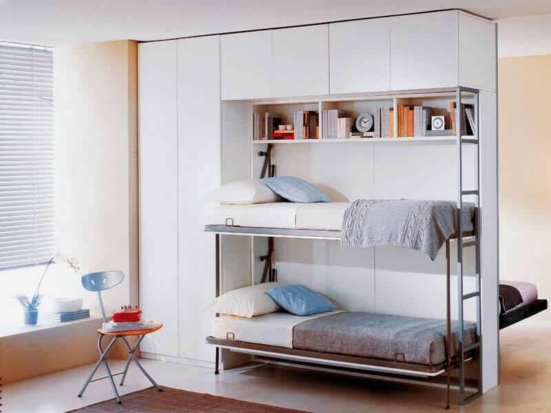 Двуспальная откидная кровать трансформер для малогабаритной квартиры: виды, преимущества, правила выбора