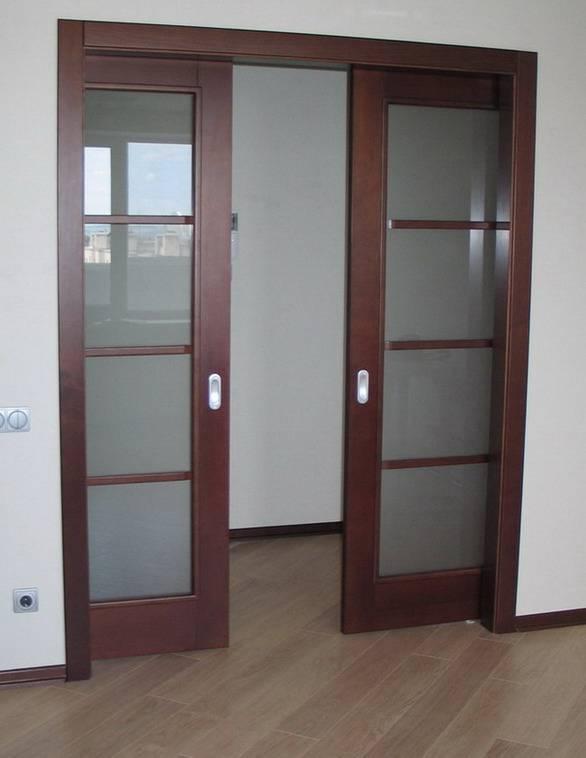 Установка раздвижных дверей-купе своими руками: инструкция