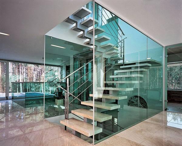Фьюзинг стекла в интерьерном дизайне - 18 фото примеров