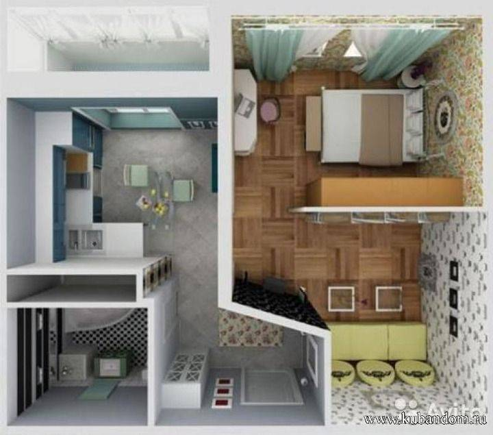Двое детей в квартире, организация пространства - фото примеров