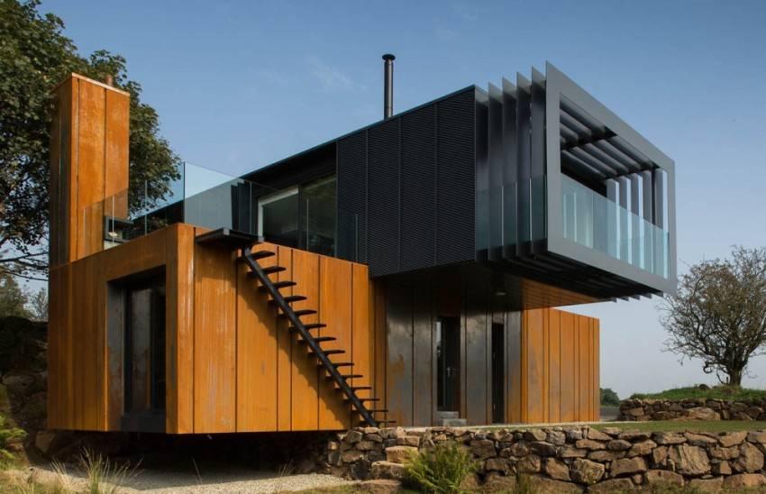 Дачные дома из контейнеров: разновидности, плюсы и минусы