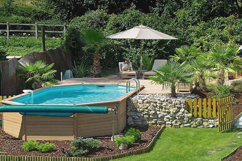 Строим бассейн своими руками на даче.