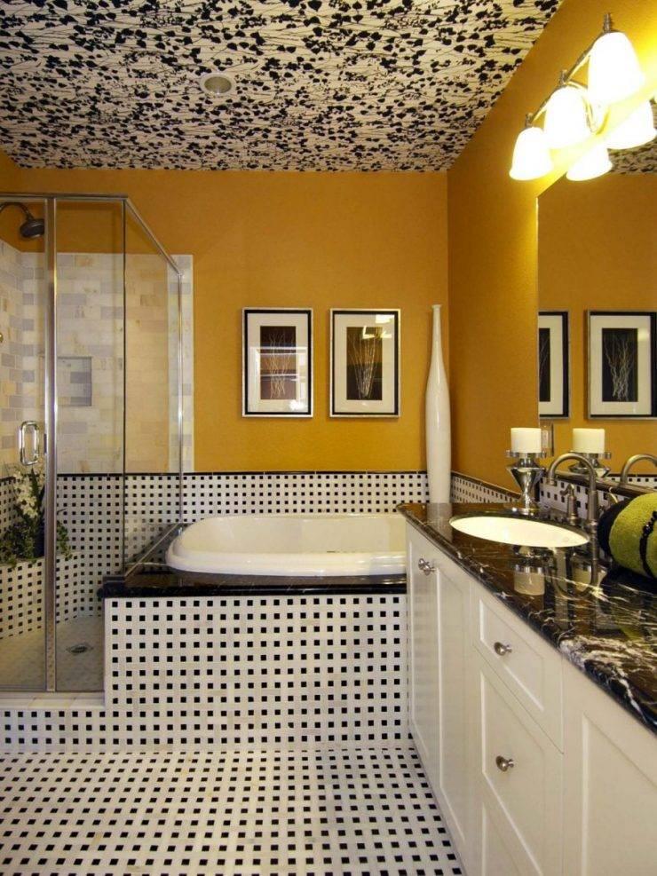 Какой потолок для ванной выбрать? | домфронт