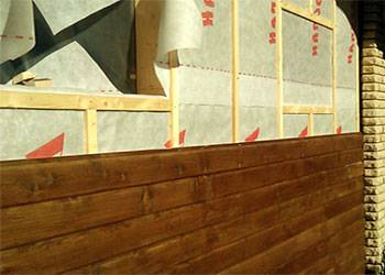 Где применяется вагонка и как обшивать ею стены внутри и снаружи?
