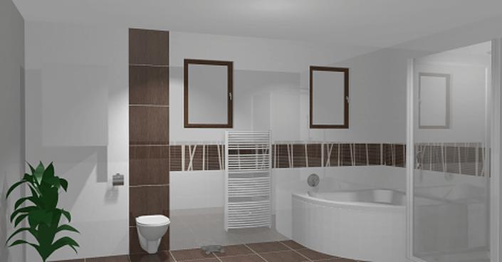 Пластиковые панели для ванной - фото примеров