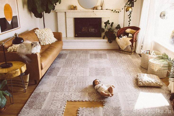 Напольное покрытие для детской комнаты - 65 фото красивых и комфортных поверхностей