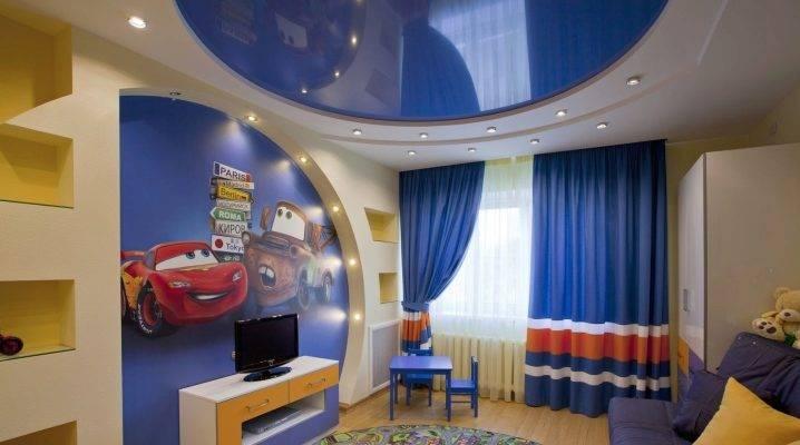 Потолок в детскую для мальчика