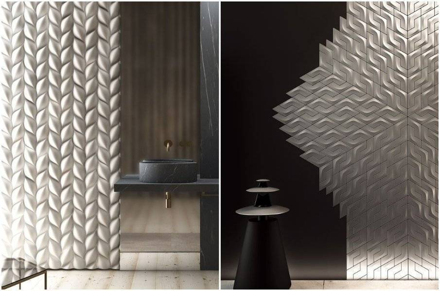 3d обои (102 фото): особенности покрытий для стен в интерьере квартиры, использование эффекта расширения пространства